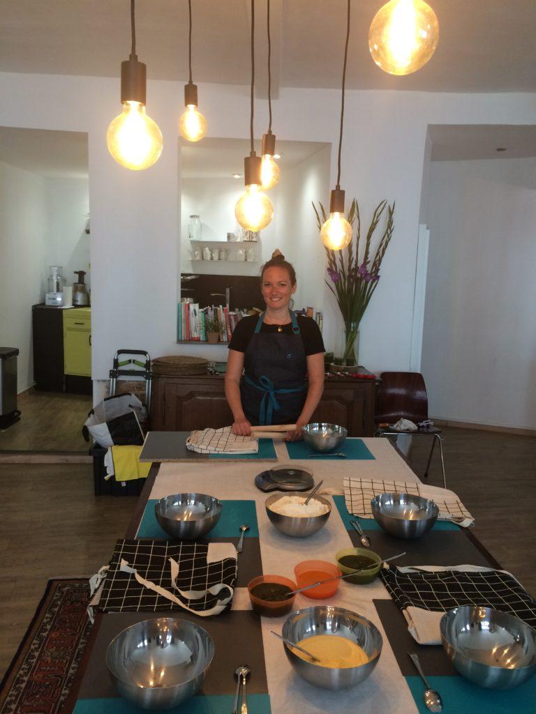 Virginie Amendola Cours et Cuisine